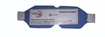 VNG PHOTOTHERAPY EYE MASK is used to protect Newbor Babies Eyes during Jaundice Care Process.
